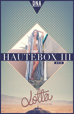 Hautebox III Featuring Lotta Stensson